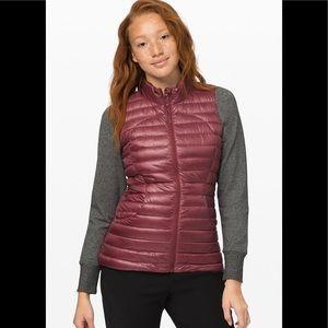 Lululemon Pack It Down Vest Shine SZ 2